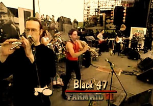 Saturday April 24, 1993 Farm Aid Ames Iowa Black 47 James Connolly (Live, Farm Aid VI 1993)