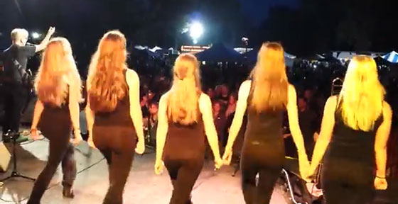 Saturday September 7, 2013 South Buffalo Irish Fest at Cazenovia Park - The Reels (Fermoy Lasses)