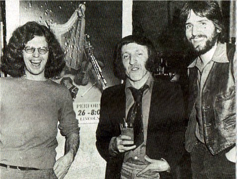Larry Kirwan, Paddy Moloney, Pierce Turner